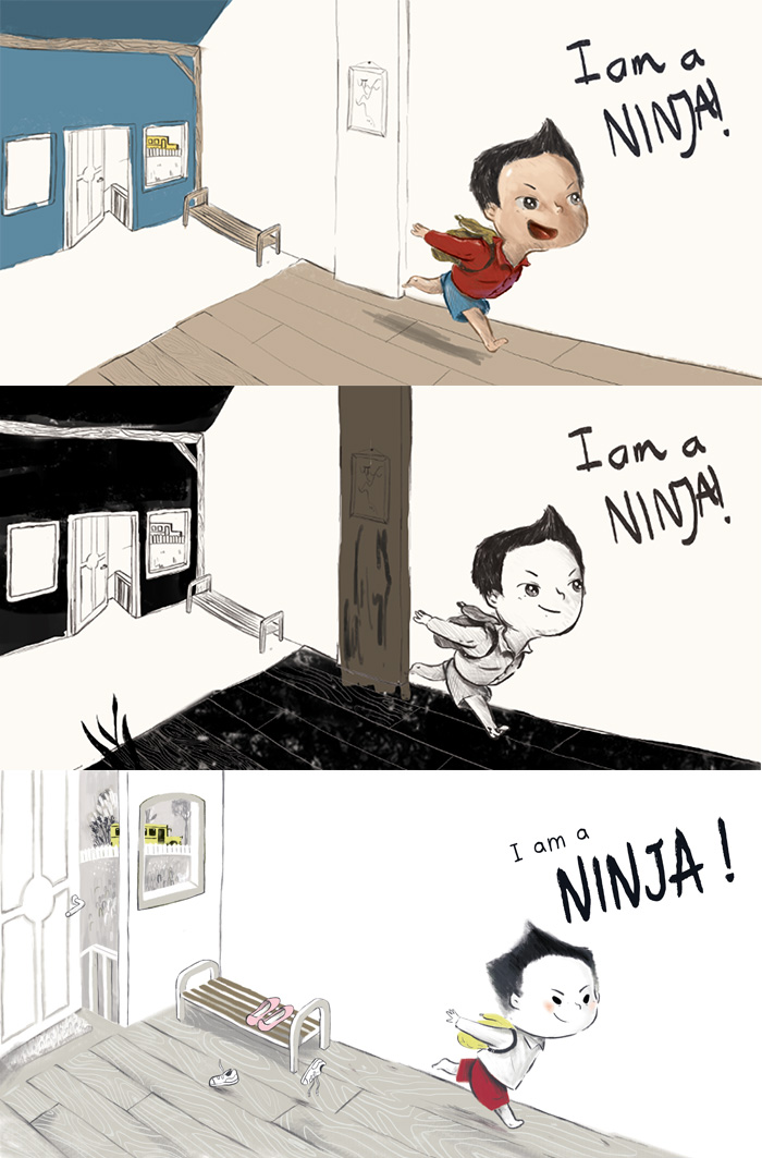 Ninja-Background