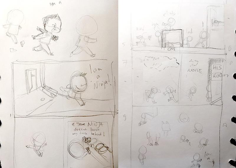 Ninja-Storyboard
